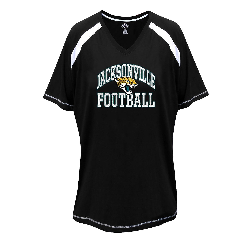 日本人気超絶の NFLジャクソンビルジャガーズ半袖ラグランTシャツ、1 x B01E7LD8PQ、ブラック/ホワイト B01E7LD8PQ, 宇土郡:03d81abd --- a0267596.xsph.ru