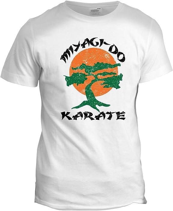 Miyagi Do Karate Kid Japanese Chinese Martial Arts Kung Fu TV Movie T Shirt