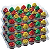 OccasionWise (4 Pack) Standard Clear Cupcake