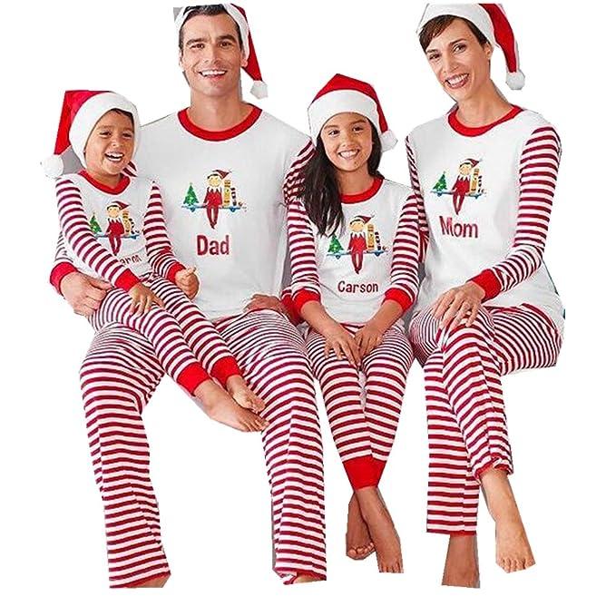 179981f503 FastDirect Conjunto Pijamas Navidad Familia con Dos Piezas Top Manga Larga  Pantalones Ropa de Dormir  Amazon.es  Ropa y accesorios