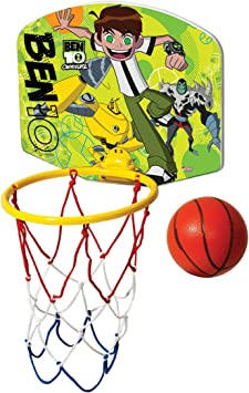 Baloncesto Mini posterior pelota y neumáticos infantil (Disney chraktere, - Ben10: Amazon.es: Deportes y aire libre
