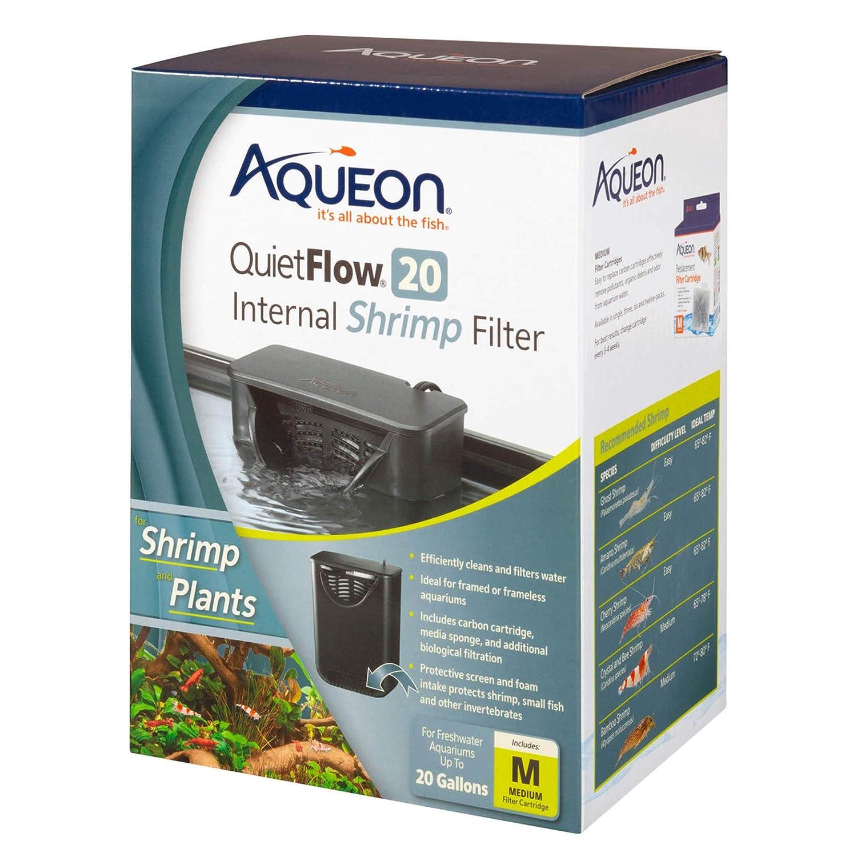 Aqueon QuietFlow Internal Shrimp Filter 20