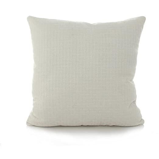 monkeysell color sólido funda para cojín de lino y algodón ...