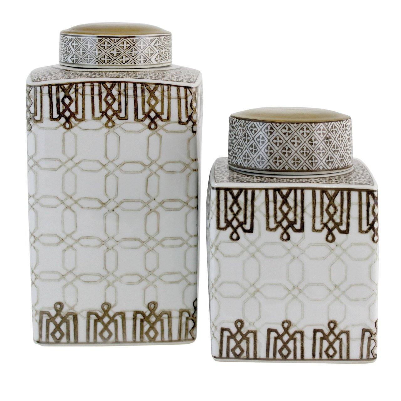 TIC Collection 15-126 Morris Jars, Set of 2 by TIC Collection