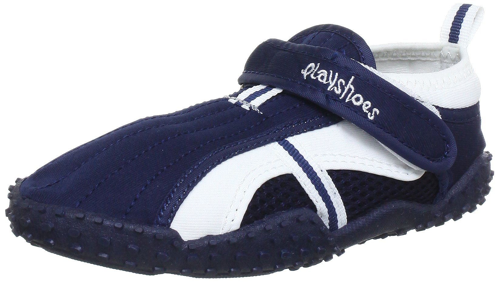 Playshoes Children's Aqua Beach Water Shoes (8.5 M US Toddler, Navy) by Playshoes (Image #2)