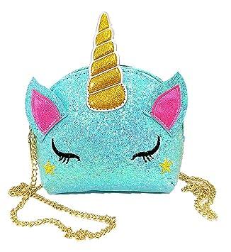 Amazon.com: Tonfant - Bolso de unicornio brillante para ...