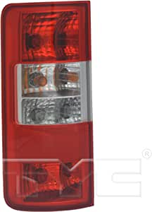 Rear Light Lamp Clear Indicator Lens Passenger Side Compatible With Transit Connect 2003-2009 Trade Vehicle Parts FD8004