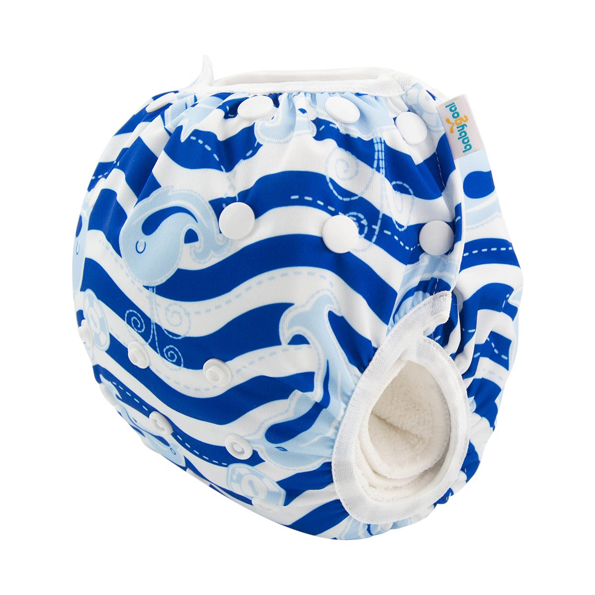 ZFSW05-B Rose Large Size Washable and Adjustable for Swimming Fit Babies 0-3 Years babygoal Baby Reusable Swim Diapers