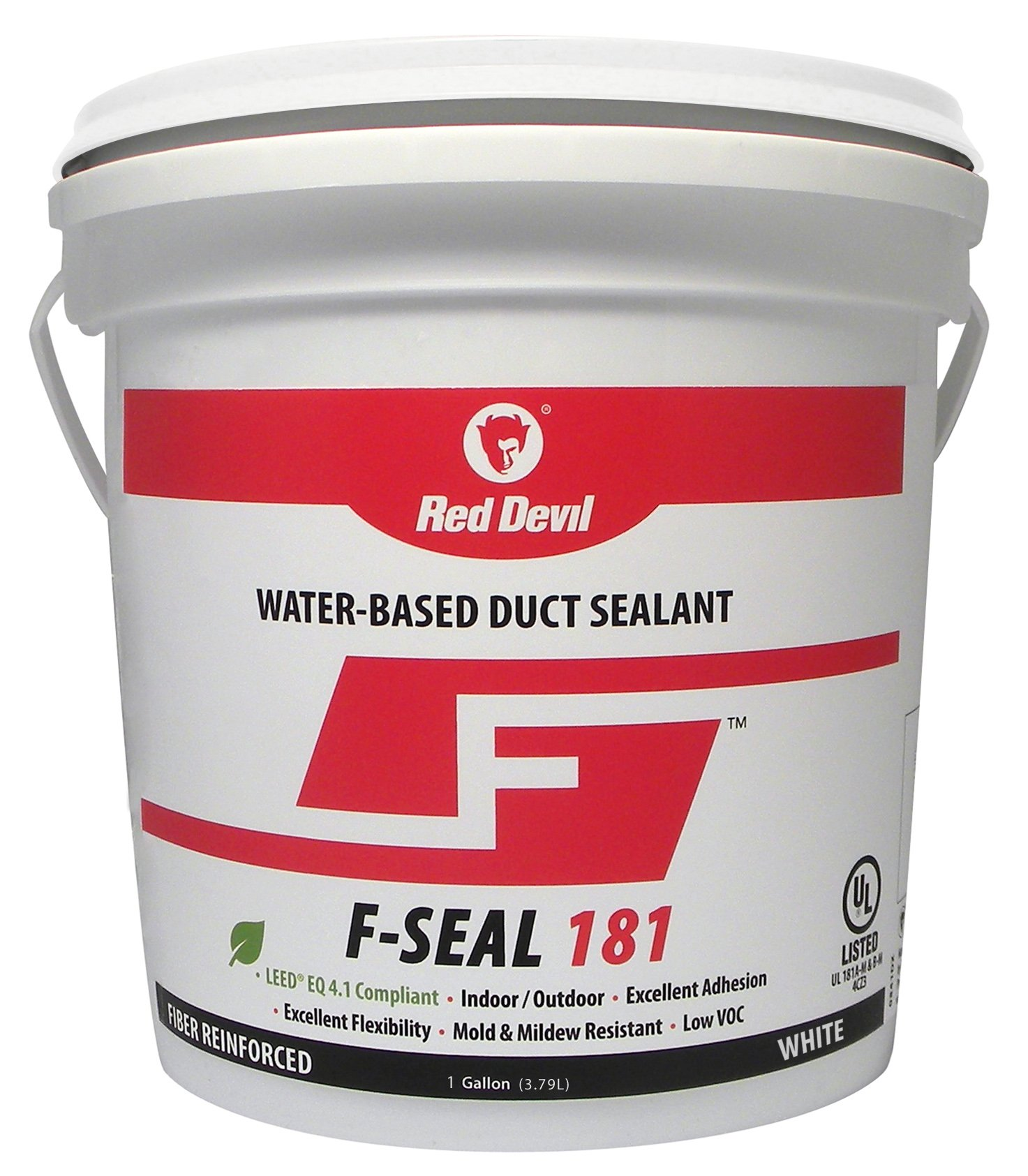 Red Devil 0841DW 1 Gal F-Seal White