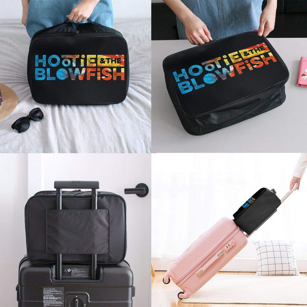 Travel Luggage Storage Bag,Packing Cubes Travel Duffel Bag Handle Makeup Bag Large Capacity Portable Luggage Bag Mdaw232nda