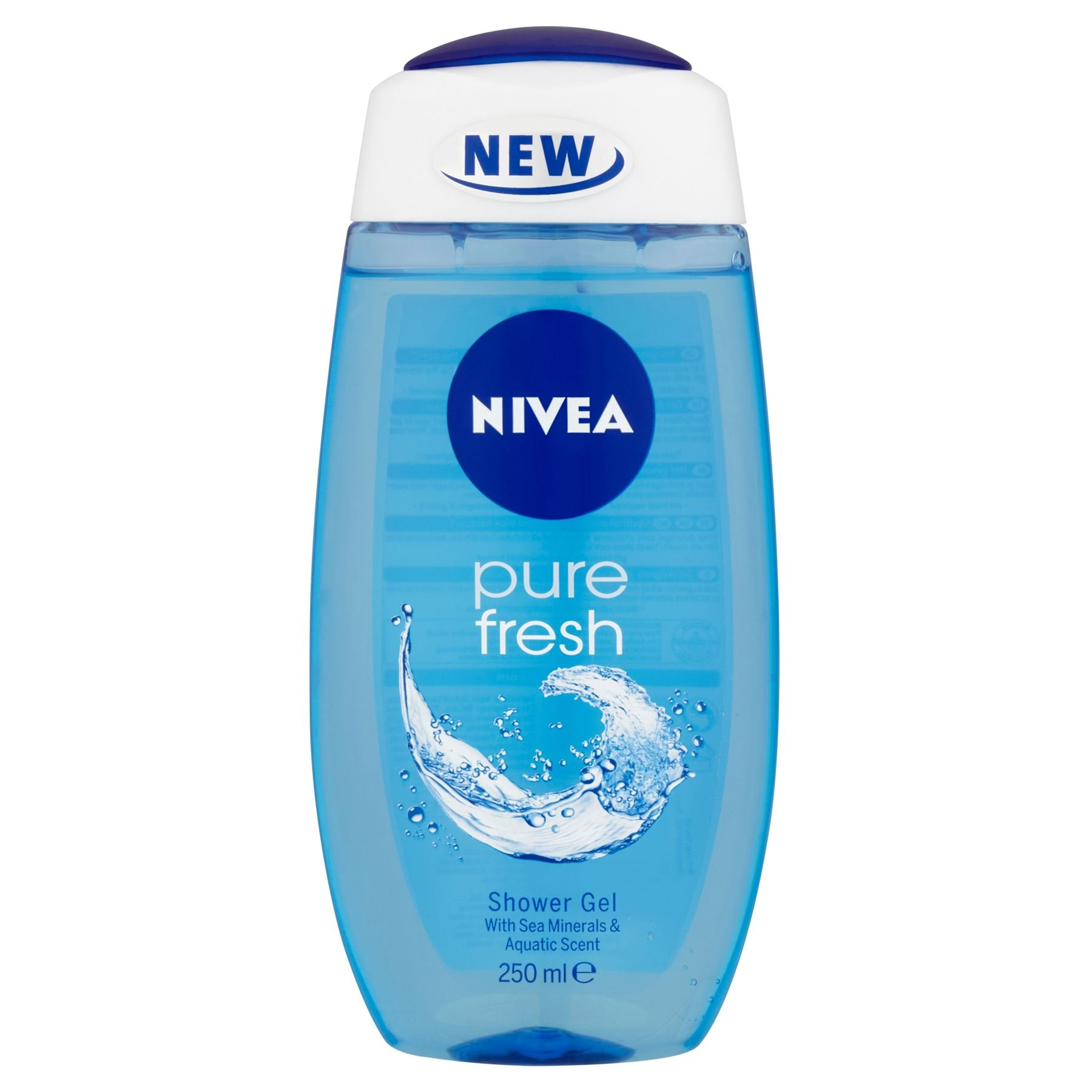 Nivea Pure Fresh Shower Gel 250ml