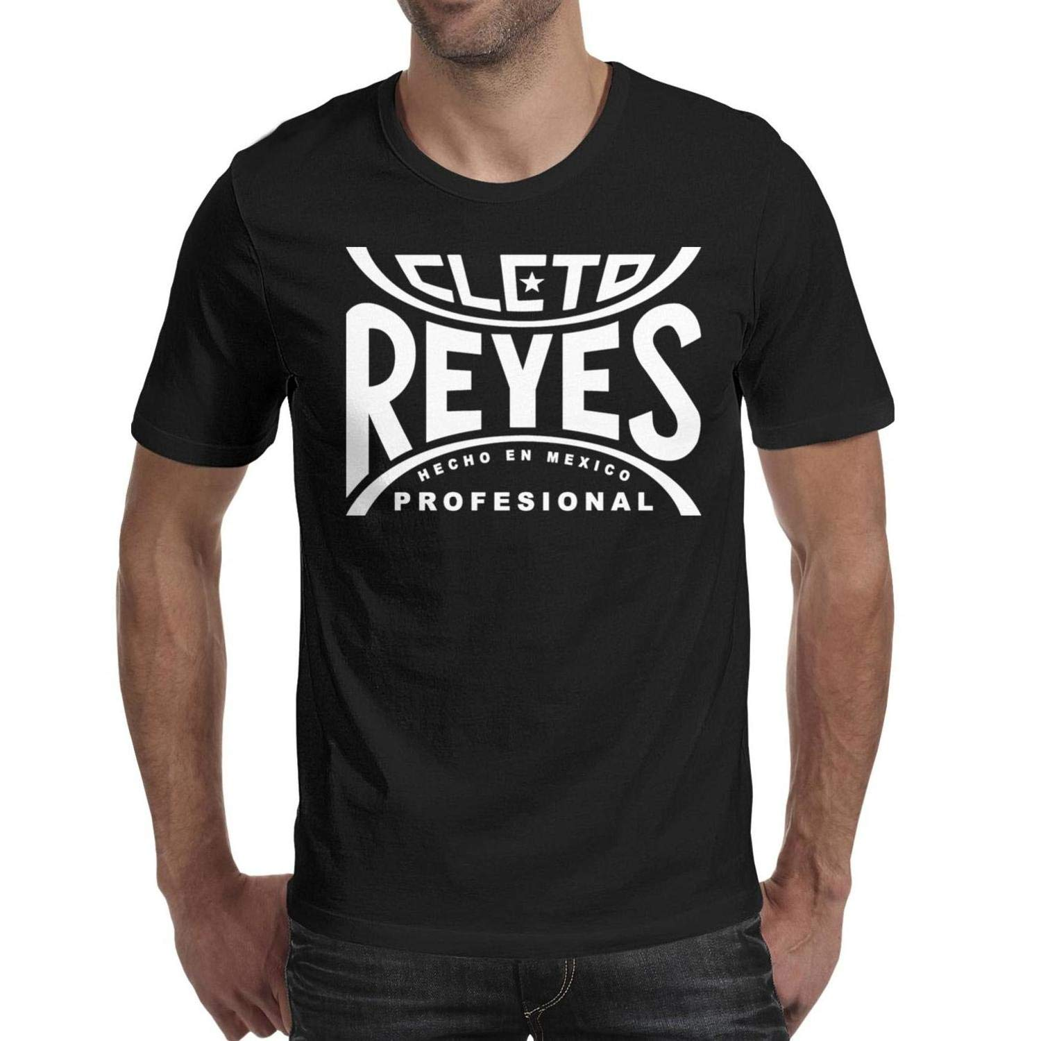 Classic Mens Athletic Tee-Logo-Funny-Cleto-Reyes-T Shirt Casual Basic