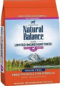 Natural Balance Small Breed Bites Grain-Free Dry Dog Food