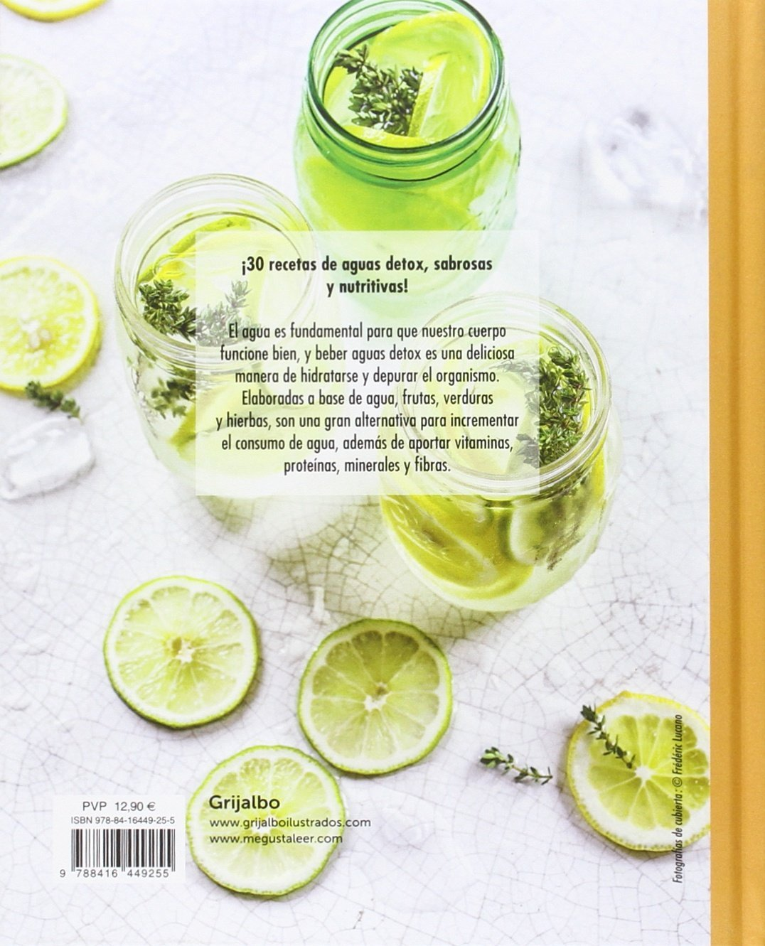 Aguas detox / Detox Water (Spanish Edition): Sonia Lucano: 9788416449255: Amazon.com: Books