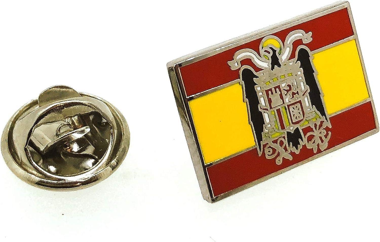 Pin de Traje del Bandera de España Aguila San Juan: Amazon.es ...