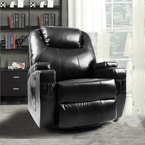 Amazon.com: Massage Recliner Chair, Fitnessclub, Electric ...