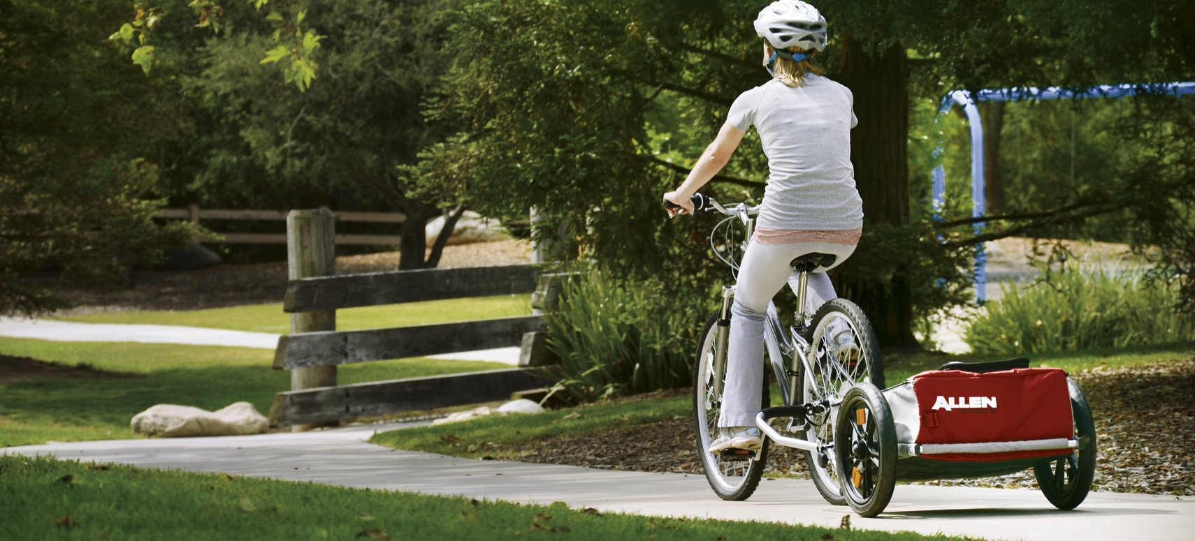 Allen Sports Explorer Bicycle Cargo Trailer by Allen Sports (Image #2)