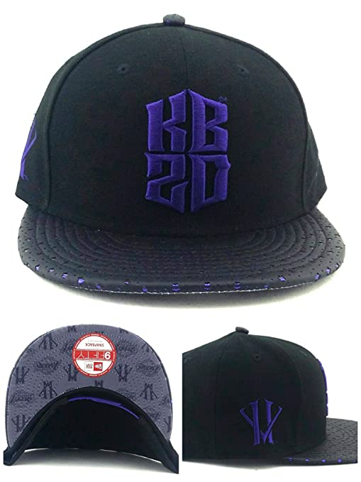 info for dc12a 13488 Image Unavailable. Image not available for. Color  New Era Los Angeles  Lakers 9Fifty Kobe Bryant KB20 Villian Black Purple Snapback Hat ...