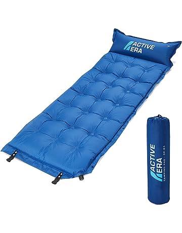Active Era Colchón Esterilla de Aire Autoinflable para Camping con Almohada y Funda | Sleeping Pad