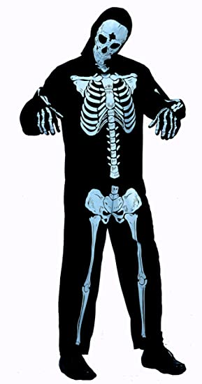Adult Skeleton Costume  sc 1 st  Amazon UK & Adult Skeleton Costume: Amazon.co.uk: Toys u0026 Games