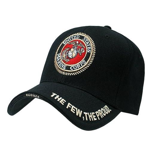0fc525c233e Amazon.com  USMC U.S. MARINES INSIGNIA HAT CAP MILITARY HATS CAPS  Clothing