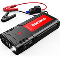 $99 » DBPOWER 2500A 21800mAh Portable Car Jump Starter for up to 8.0L Gas/6.5L Diesel Engines,…