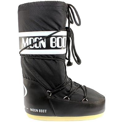 new product 3edc5 4d5f9 Womens Tecnica Moon Boot Original Winter Snow Waterproof Nylon Boots 3-8.5