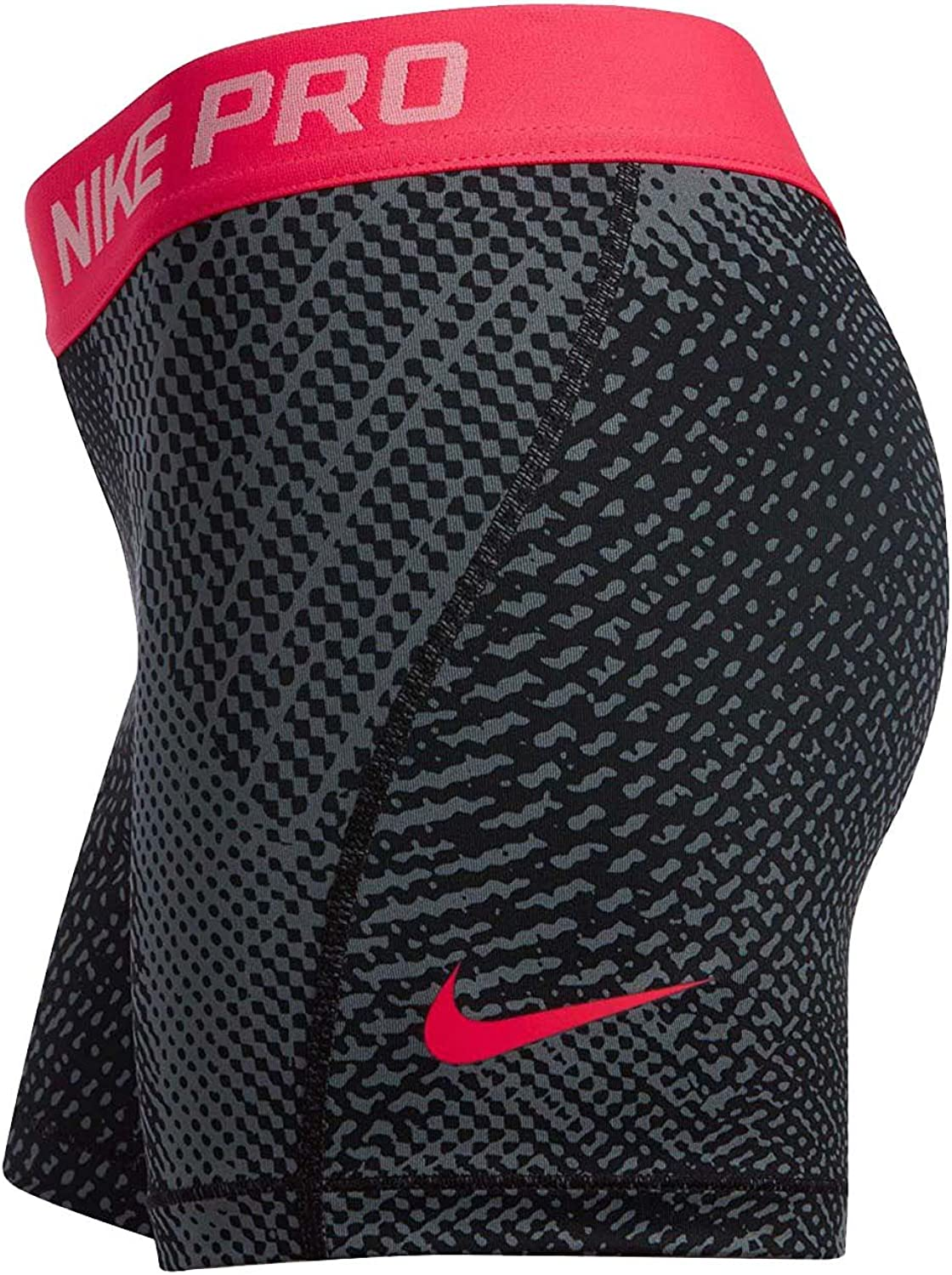 Nike Girls 4 Pro Cool Tempest Printed Shorts