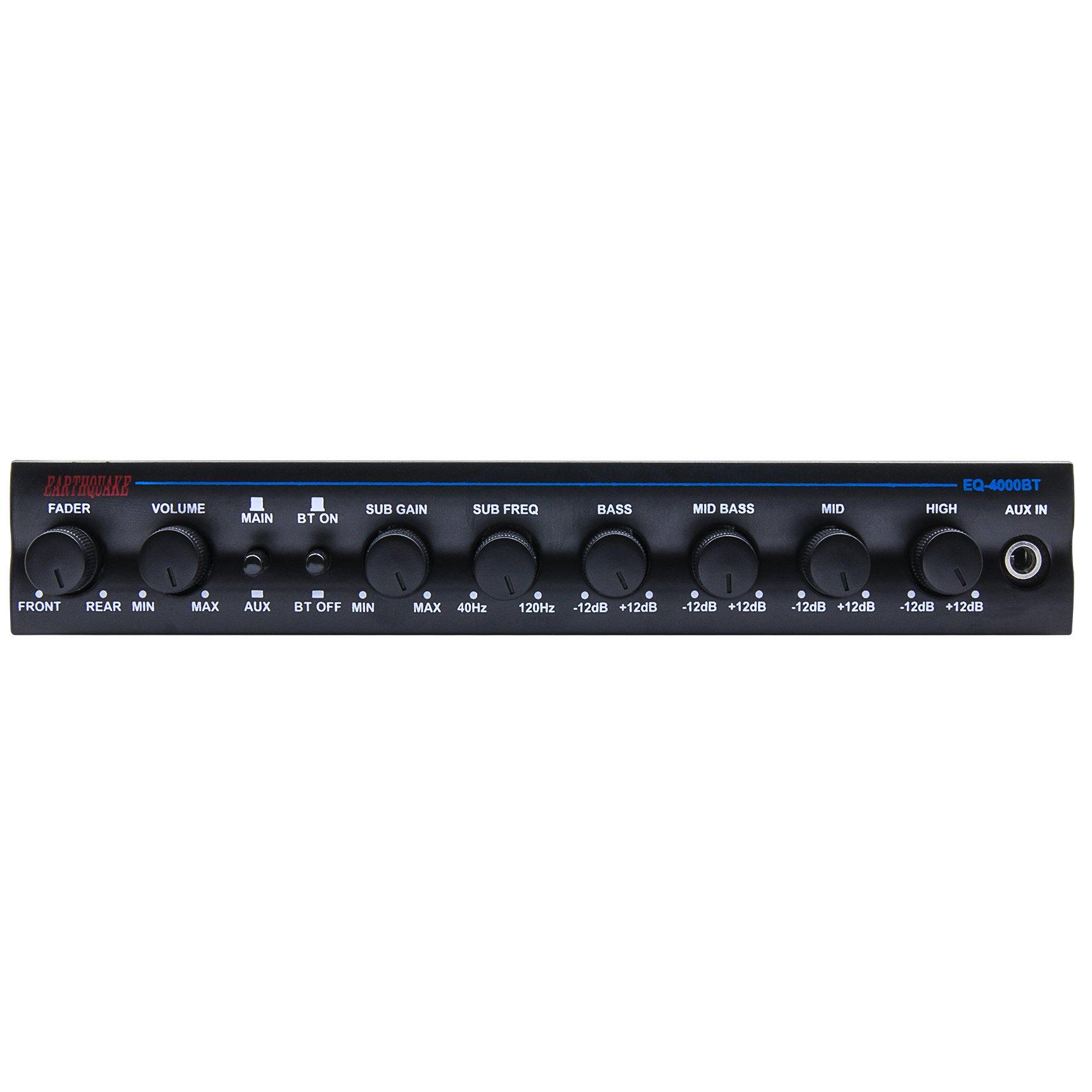 Earthquake Sound EQ4000BT 4-Band Equalizer with Bluetooth Capability by Earthquake Sound (Image #2)