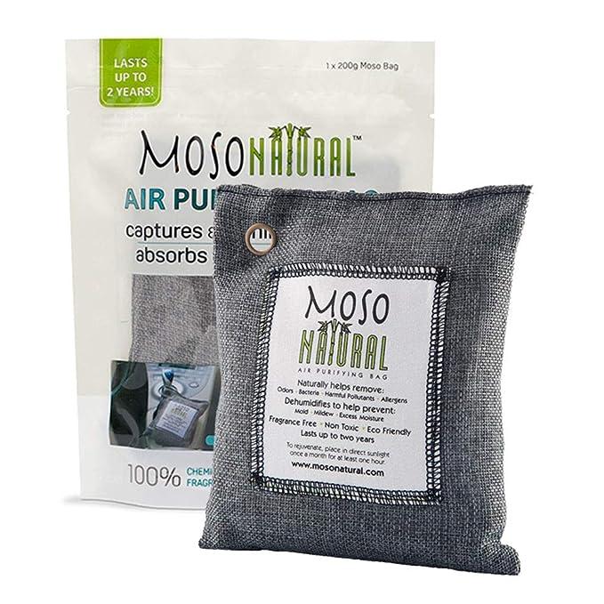 2. Moso Natural 200 gm Air Purifying Bags