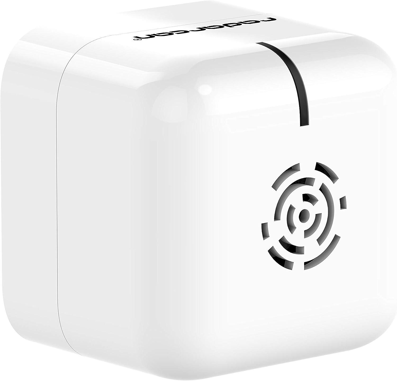 Radarcan® R-107 AntiMosquitos Portátil Premium, 25m2, 4 x 1,5 V AAA (no incluidas), Blanco