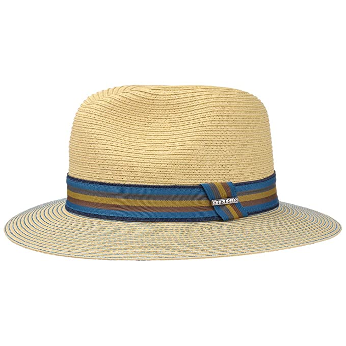 7e402e2d498e8 Stetson Monticello Toyo Traveller Hat Men at Amazon Men s Clothing store