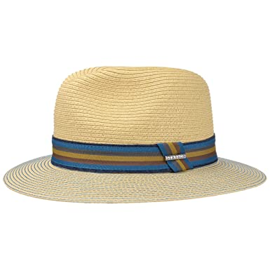 Stetson Men s Toyo Straw Traveller Fedora Beige  Amazon.co.uk  Clothing a00630ac8f3