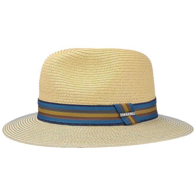 Stetson Monticello Toyo - Sombrero Traveller para hombre - natural  Amazon. es  Ropa y accesorios 2eaac6c757a