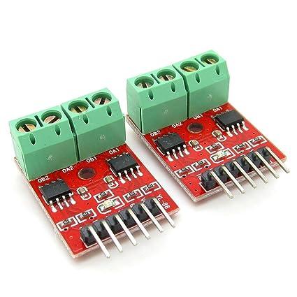 Amazon com: 2 X Super Small PCB Board Arduino H-Bridge L9110