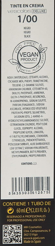 MH Cosmetics VeraColors Deluxe Tinte Capilar Premium Vegano 1 ...