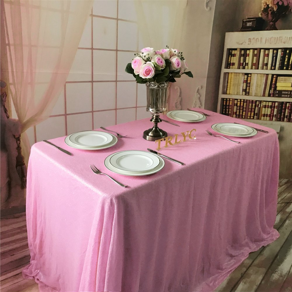 Pink Sequin Tablecloth: Amazon.com