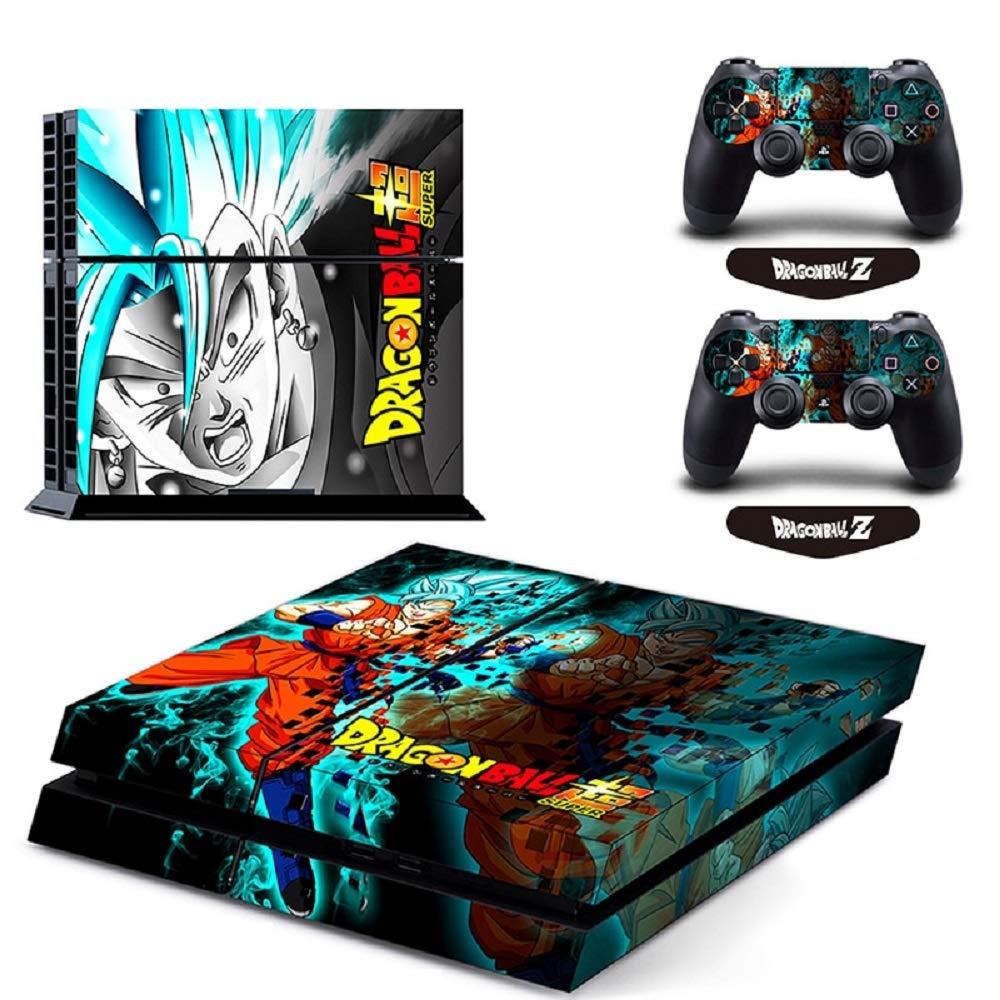 Amazon.com: Dragon Ball Super Son Goku Vinyl Cover Decal PS4 ...