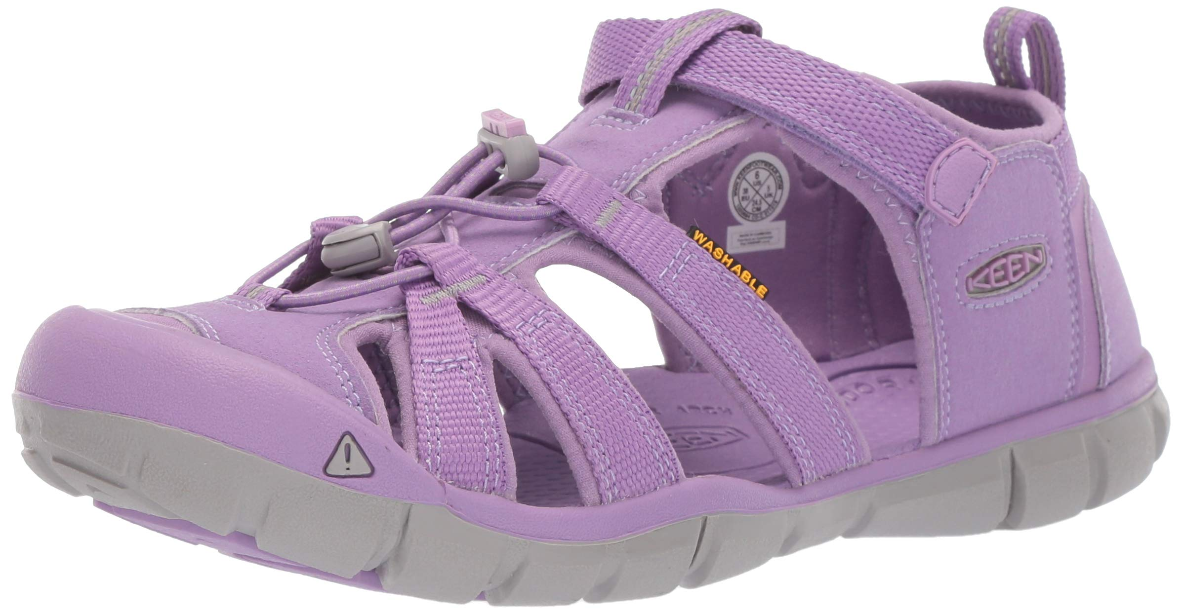 Keen Baby Seacamp II CNX Water Shoe diffused Orchid 4 M US Toddler