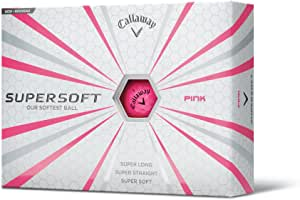 Callaway Supersoft Golf Balls, Prior Generation, (One Dozen)