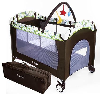 Encantador Cuna Portátil Para Muebles Para El Bebé Cresta - Muebles ...