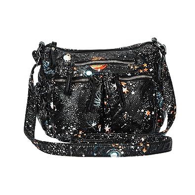88deb3058187f 🌹VENMO Mode Frauen Taschen Muster wasserdicht PU-Leder Umhängetaschen Messenger  Schultertasche