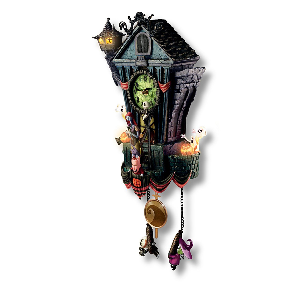 disney nightmare before christmas cuckoo clock led lights this is halloween song moving parts 21
