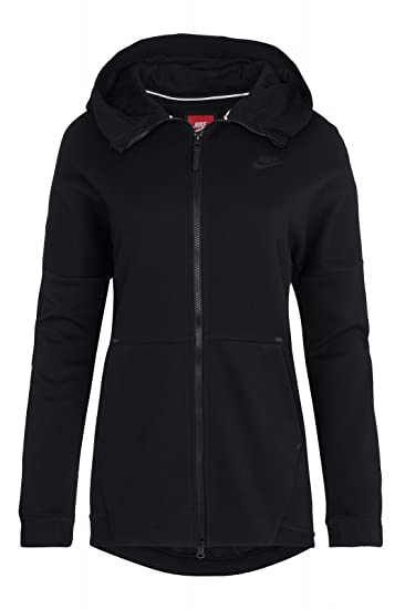 46e1e120c84c NIKE Womens Fleece Knit Cape Hoodie Hoodie at Amazon Women s Coats Shop