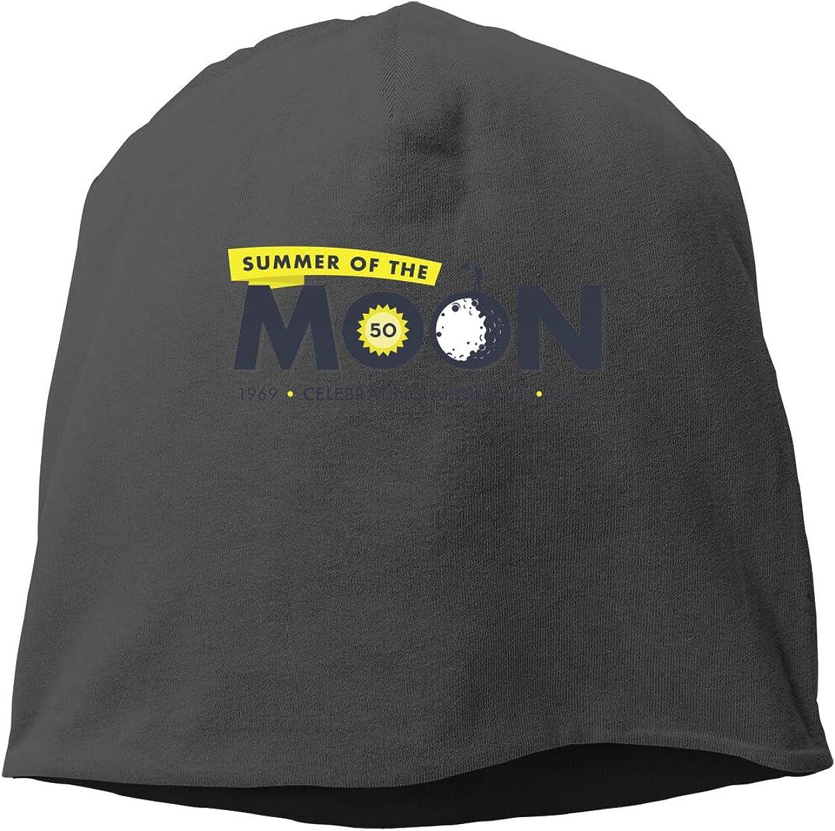NASA Astronaut Moon Reflection Skull Cap Helmet Liner Beanie Cap for Men Hip Hop Hedging Head Hat
