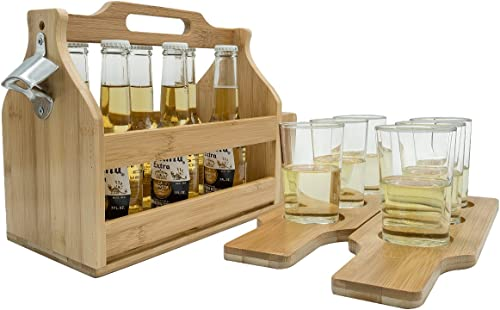 Sorbus Bottle Caddy and Sampler Boards