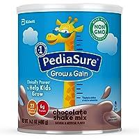 美国雅培小安素 Pediasure Grow & Gain儿童营养奶昔 巧克力味(400g/14.1 oz) 6罐