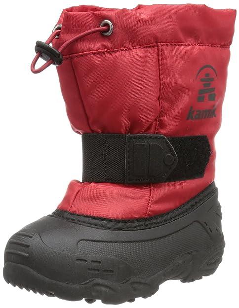 89d25f1b1 Kamik NK9446 Botas De Nieve de Material Sintético para Niños  Amazon.es   Zapatos y complementos