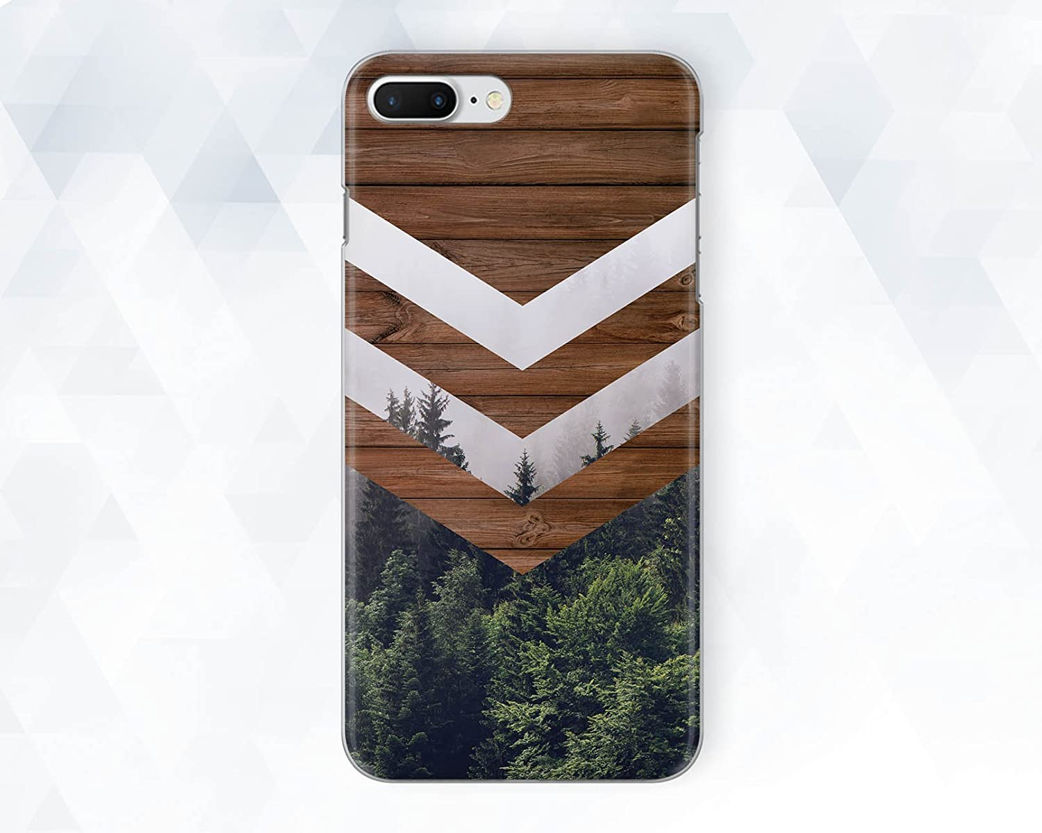 Wood Wooden Forest Nature Phone Case For iPhone 6 6s Plus 7 8 Plus Xs Max XR 10 Case Cover For Samsung Galaxy S6 S7 S8 S9 Plus Note 8 9