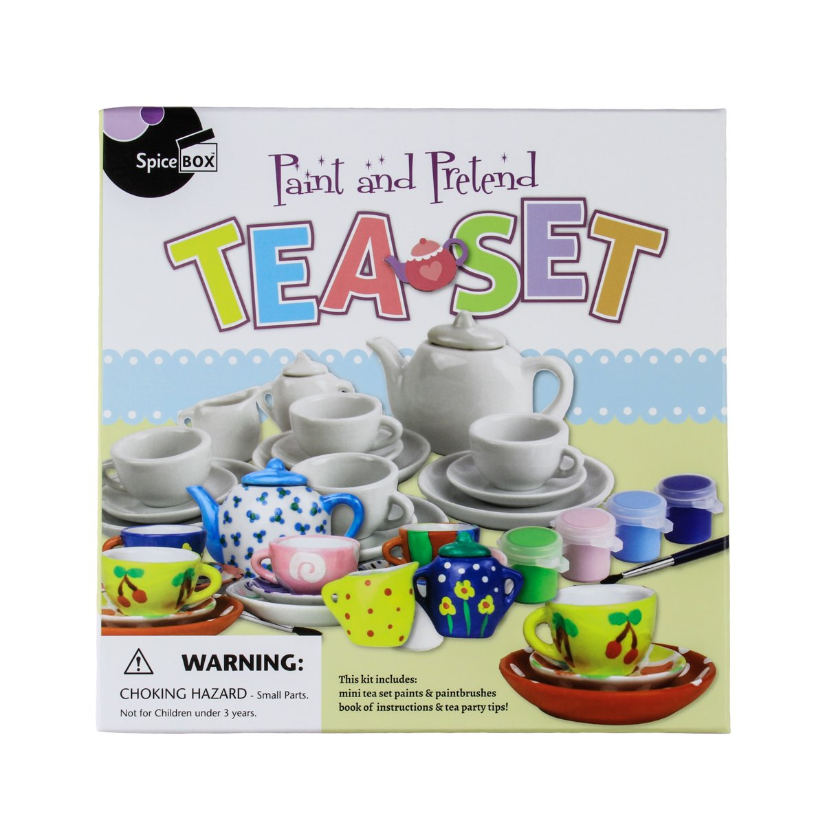 Paint & Pretend Tea Set